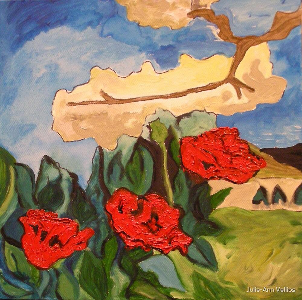 Sky Branches by Julie-Ann Vellios