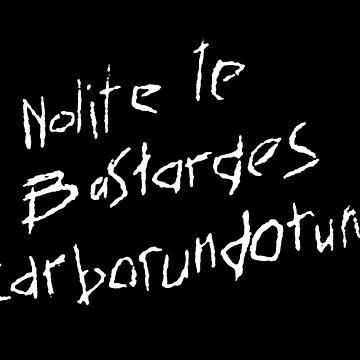 Nolite te Bastardes Carborundorum-Handmaid by carlosafmarques