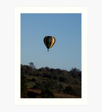 Ballooning Over Menangle Art Print