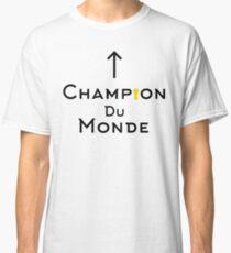 Champion du monde - black Classic T-Shirt