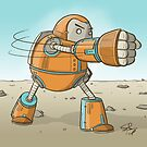 Robot punch! by Shawn Turek