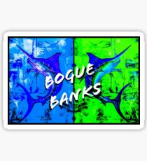Bogue banks nc Sticker