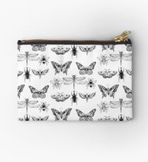 Insect Series in pointillism Studio Pouch