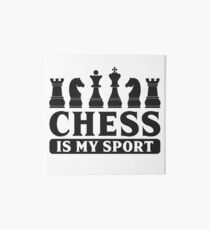 Chess Chess Pieces Board Game Sport Gift Idea Art Board