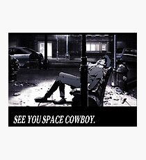 Cowboy Bebop See You Space Cowboy Photographic Print