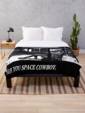 Cowboy Bebop See You Space Cowboy Throw Blanket