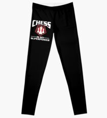 Chess Chess Pieces Board Game Sport Gift Idea Leggings