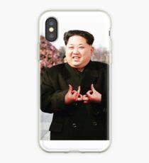 Kim Jong Un Blood Gang iPhone Case