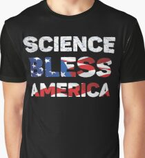 Science Bless America Graphic T-Shirt