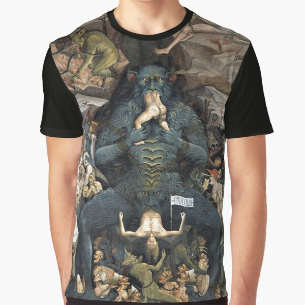 HD Inferno (Hell), by Giovanni da Modena HIGH DEFINITION Graphic T-Shirt