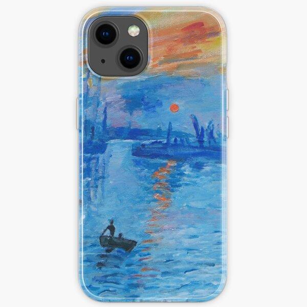 Impression, Sonnenaufgang Monet Malerei Soleil Levan iPhone Flexible Hülle