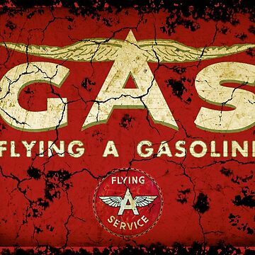 Flying A gasoline USA by midcenturydave