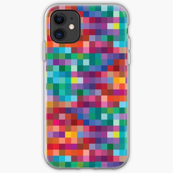 Pixels iPhone Soft Case