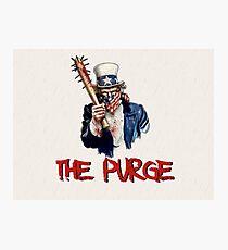American Purge Photographic Print