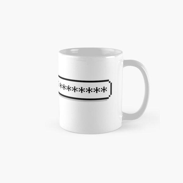 My Password is ******** Classic Mug
