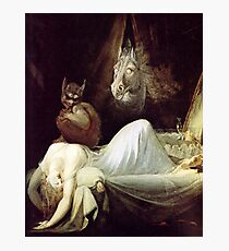 HD The Nightmare, by John Henry Fuseli HIGH DEFINITION Photographic Print