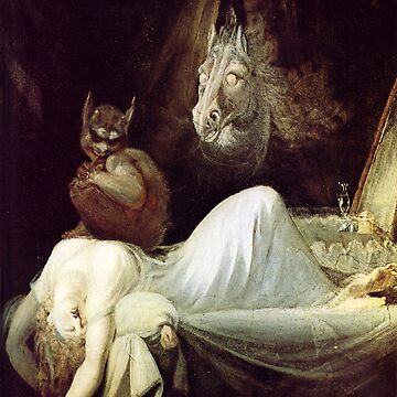 HD The Nightmare, by John Henry Fuseli HIGH DEFINITION by mindthecherry