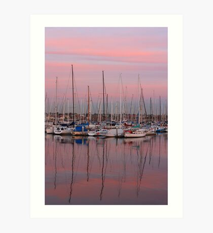 Brighton Marina revisited Art Print
