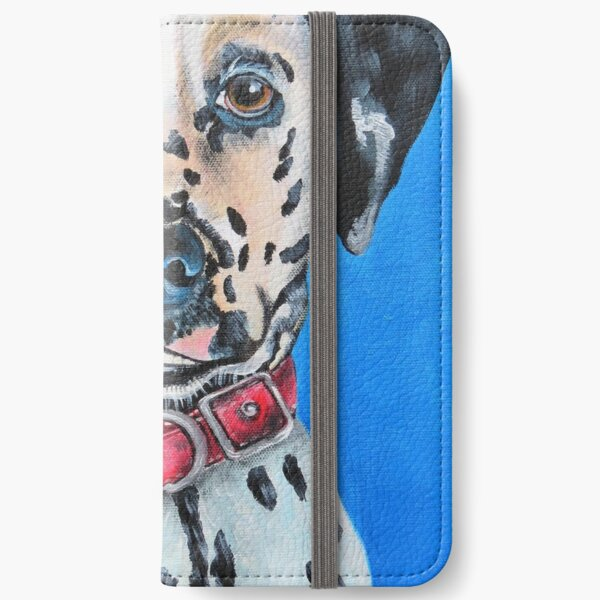 Naughty Puppy! iPhone Wallet