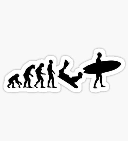 Surf evolution 2 Sticker