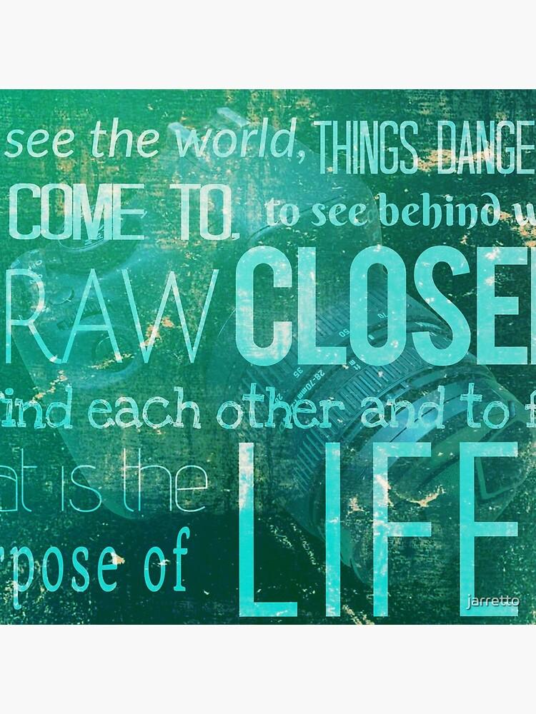 El lema de la revista Life. de jarretto