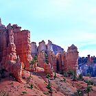 Hoodoos Of Bryce Canyon by Len Bomba