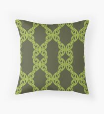 MAD TUUTURU L-Original Green Throw Pillow