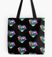Sailor Neptune and Sailor Uranus Tote Bag