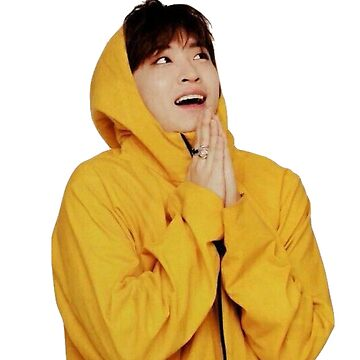 GOT7 - Youngjae in a yellow raincoat by gotchicken