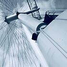 London Eye's Engine - London UK by KesiaHosking