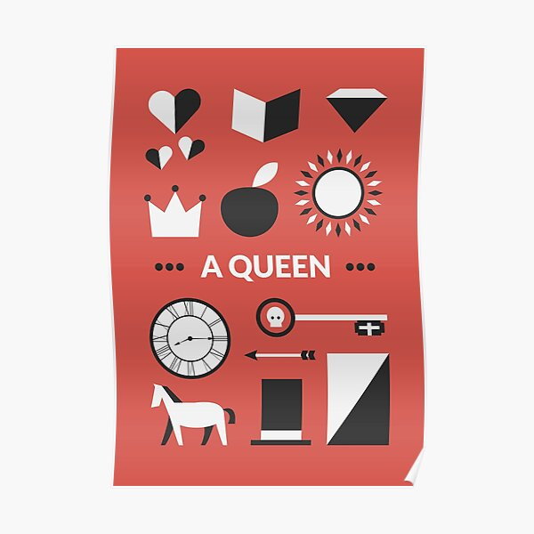 Once Upon A Time - A Queen Poster