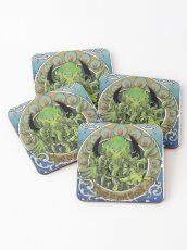 Cthulhu Nouveau Coasters