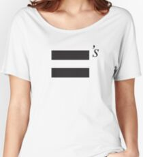 Equality Women's Relaxed Fit T-Shirt