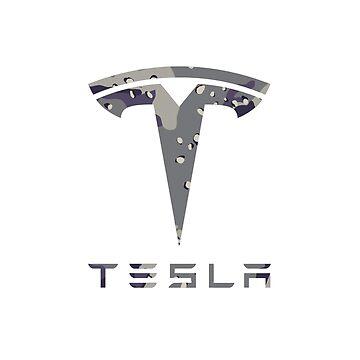 Tesla Urban Camo by roccoyou