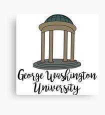 George Washington University Dome Canvas Print