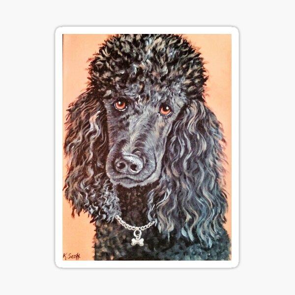 Poodle Love Sticker
