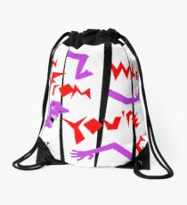 Trip Trip Trap: Run From Where You're Going Drawstring Bag