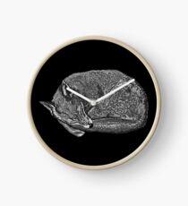 Sleeping Fox Clock