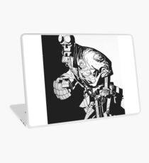 Hellboy in Action Laptop Skin