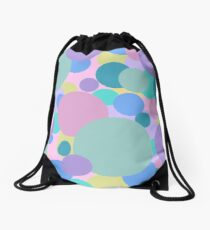 Pop of Color  Drawstring Bag