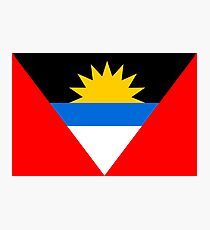 Antigua & Barbuda, national id Photographic Print