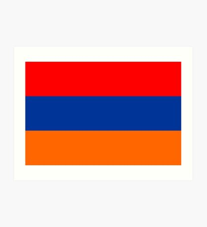 Armenia, national id Art Print