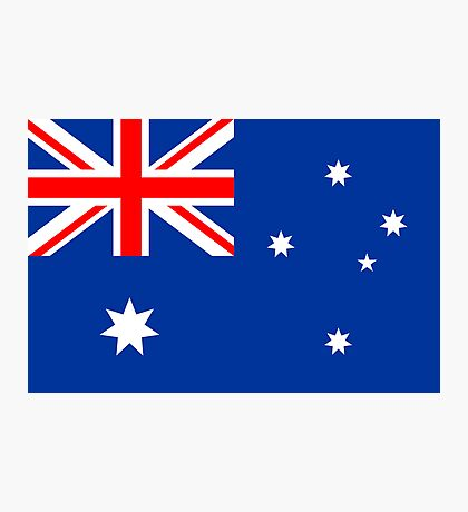 Australia, national id Photographic Print