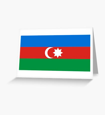 Azerbaijan, national id Greeting Card