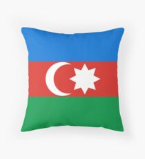 Azerbaijan, national id Throw Pillow