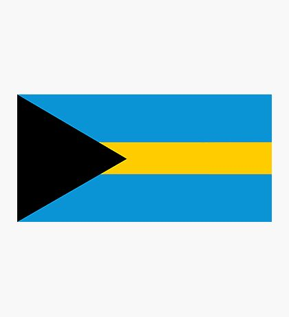 Bahamas, national id Photographic Print