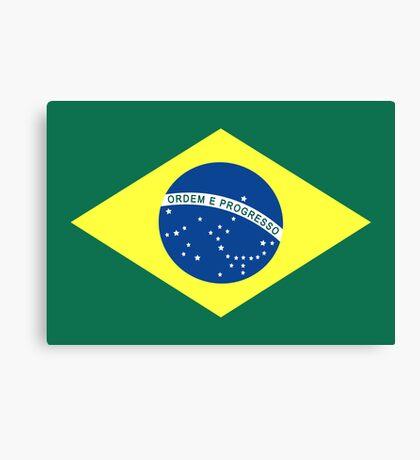 Brazil, national id Canvas Print