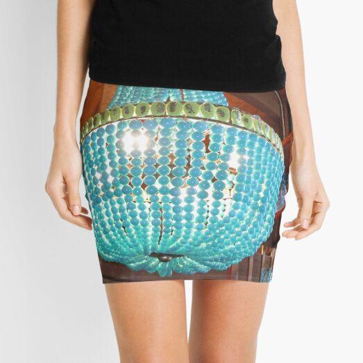 Turquoise chandelier from Roger's Gardens Mini Skirt