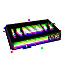 VHS Tape Rewind Glitch - Vaporwave Aesthetic D E S I G N - Retro 90s Video Tapes Glitched Nostalgia Gift Idea by harajukumoments
