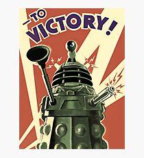 Dalek Photographic Print